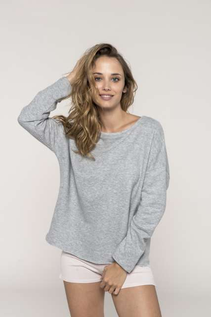 LADIES' OVERSIZED SWEATSHIRT - ka471 1 - Cérnavarázs