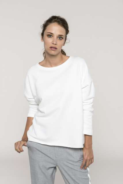 LADIES' OVERSIZED SWEATSHIRT - ka471 2 - Cérnavarázs