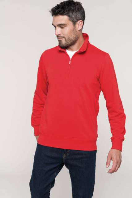 ZIPPED NECK SWEATSHIRT - ka487 1 - Cérnavarázs