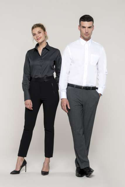 LONG-SLEEVED NON-IRON SHIRT - ka537 3 - Cérnavarázs