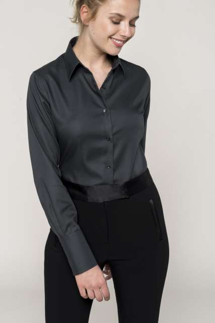 LADIES' LONG-SLEEVED NON-IRON SHIRT - ka538 1 - Cérnavarázs