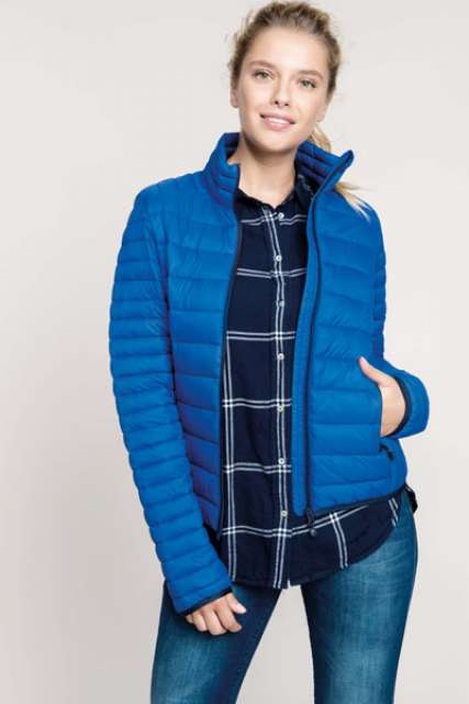LADIES' LIGHTWEIGHT PADDED JACKET - ka6121 2 - Cérnavarázs