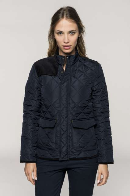 LADIES' QUILTED JACKET - ka6127 1 - Cérnavarázs