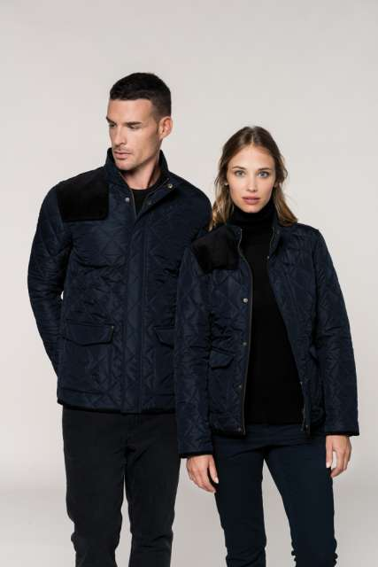 LADIES' QUILTED JACKET - ka6127 2 - Cérnavarázs