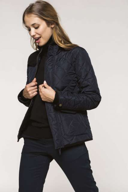 LADIES' QUILTED JACKET - ka6127 3 - Cérnavarázs