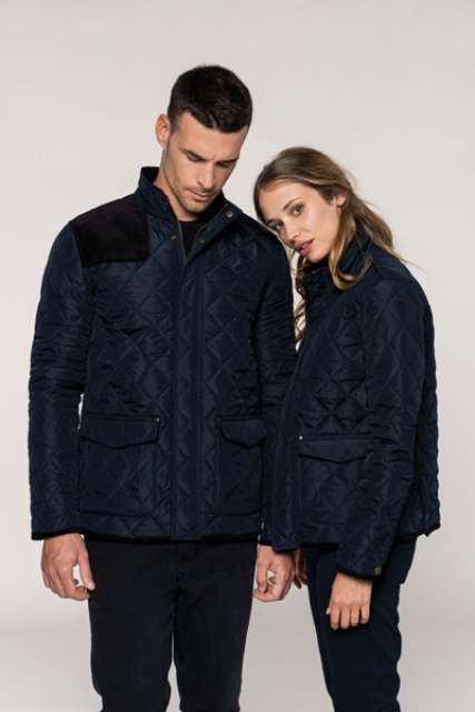 LADIES' QUILTED JACKET - ka6127 4 - Cérnavarázs