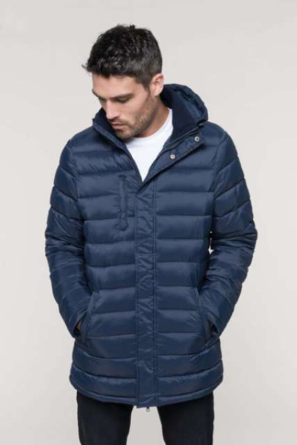 MEN'S LIGHTWEIGHT HOODED PARKA - ka6128 1 - Cérnavarázs