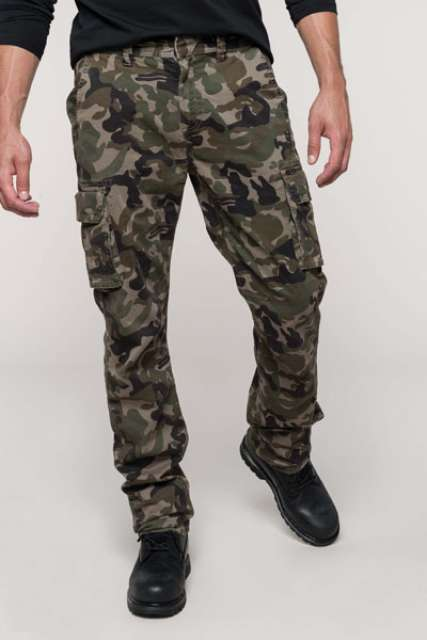 MEN'S MULTIPOCKET TROUSERS - ka744 1 - Cérnavarázs