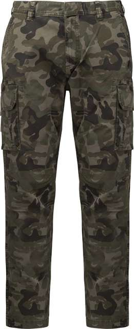 MEN'S MULTIPOCKET TROUSERS - ka744 3 - Cérnavarázs