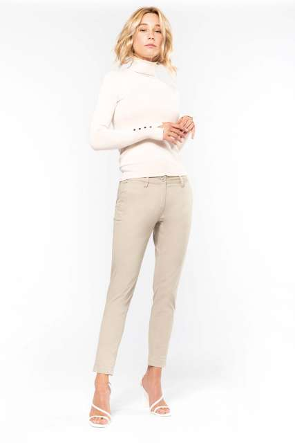 LADIES' 7/8 CHINO TROUSER - ka749 1 - Cérnavarázs