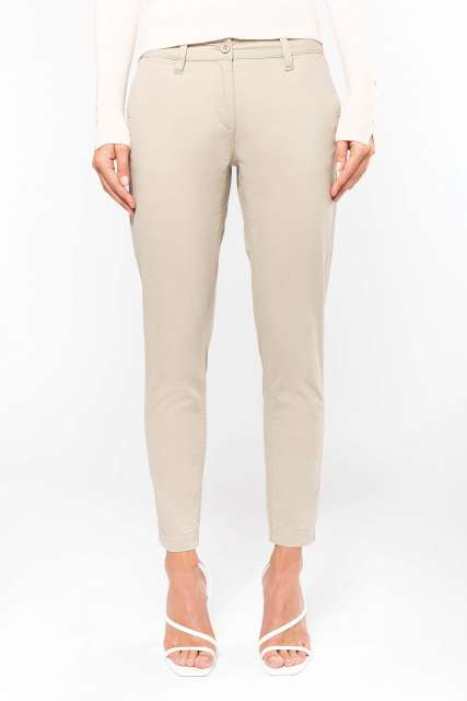LADIES' 7/8 CHINO TROUSER - ka749 2 - Cérnavarázs