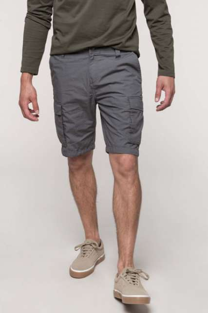 MEN'S LIGHTWEIGHT MULTIPOCKET BERMUDA SHORTS - ka755 1 - Cérnavarázs