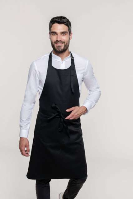 POLYCOTTON APRON HIGH-TEMPERATURE WASH - ka8010 1 - Cérnavarázs