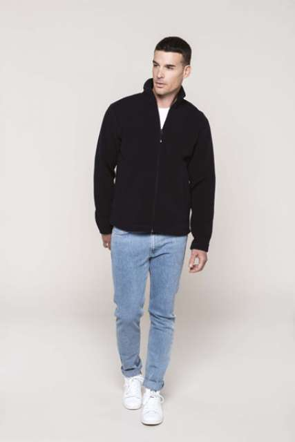 FULL ZIP MICROFLEECE JACKET - ka903 2 - Cérnavarázs