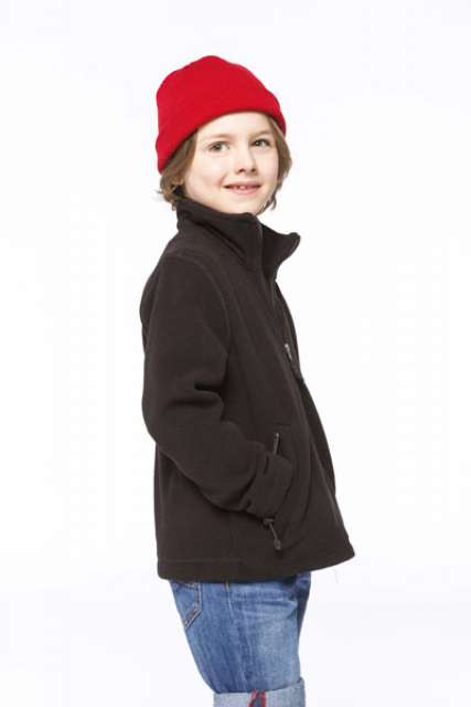 KIDS' FULL ZIP FLEECE JACKET - ka920 3 - Cérnavarázs