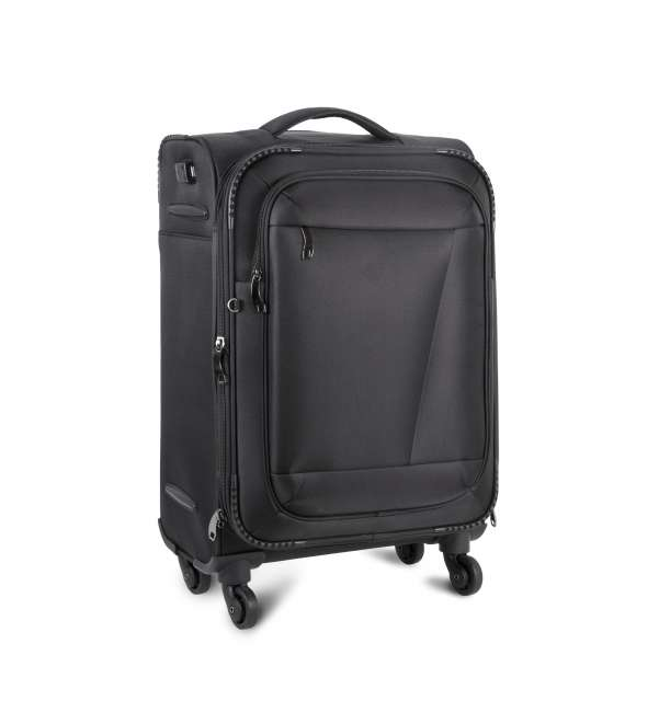 CABIN SIZE TROLLEY SUITCASE WITH POWER BANK CONNECTOR - ki0833 2 - Cérnavarázs