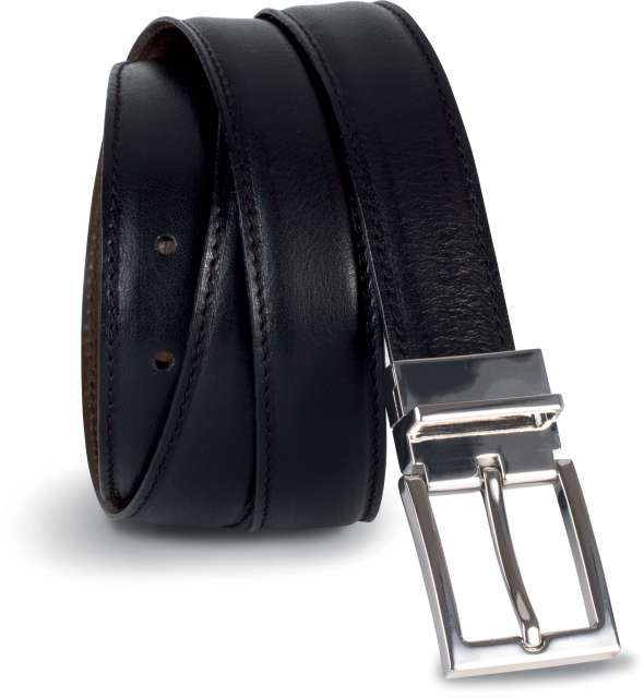 REVERSIBLE LEATHER BELT - 35MM - kp810 1 - Cérnavarázs