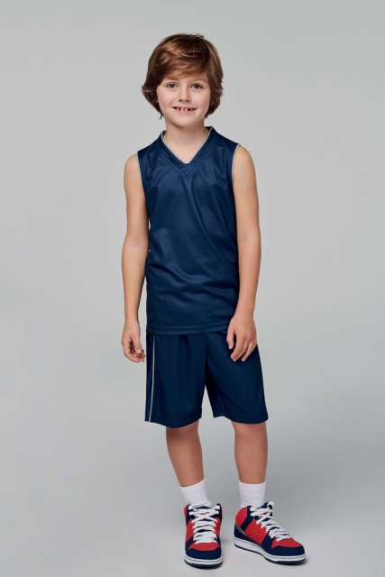 KID'S BASKET BALL SHORTS - pa161 2 - Cérnavarázs