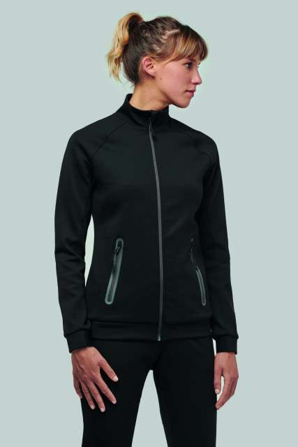 LADIES' HIGH NECK JACKET - pa379 1 - Cérnavarázs