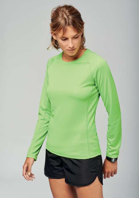 LADIES' LONG SLEEVE SPORTS T-SHIRT - pa444 1 - Cérnavarázs