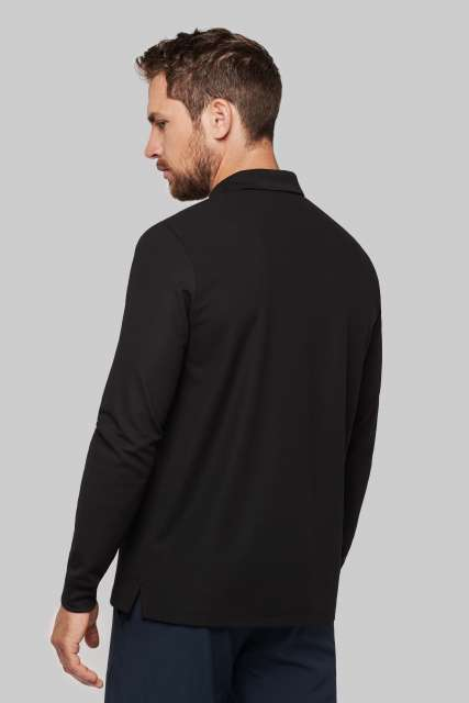 ADULT COOL PLUS® LONG SLEEVE POLO SHIRT - pa495 2 - Cérnavarázs
