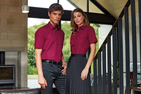 MEN'S SHORT SLEEVE POPLIN SHIRT - pr202 8 - Cérnavarázs
