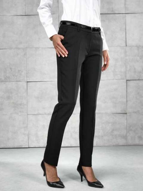 LADIES' LONG TAPERED LEG TROUSER - pr538l 2 - Cérnavarázs