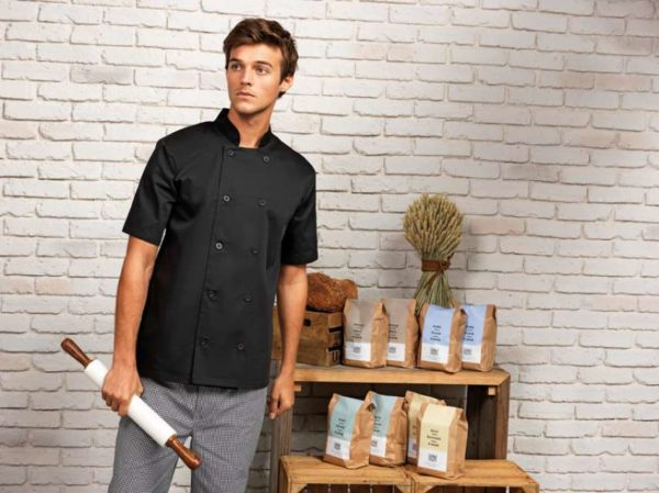 SHORT SLEEVE CHEF'S JACKET - pr656 2 - Cérnavarázs
