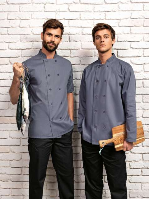 SHORT SLEEVE CHEF'S JACKET - pr656 4 - Cérnavarázs