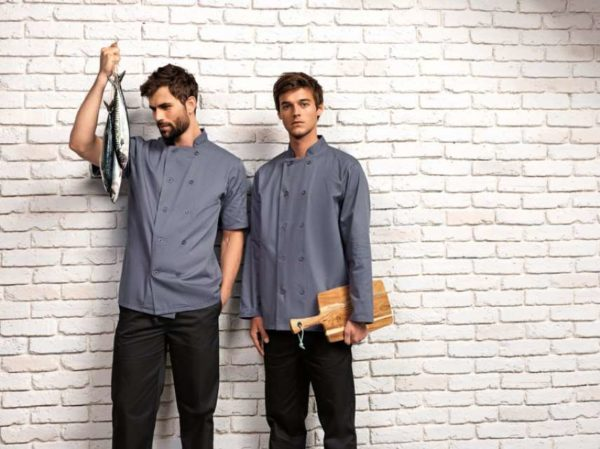 SHORT SLEEVE CHEF'S JACKET - pr656 5 - Cérnavarázs
