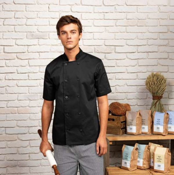 SHORT SLEEVE CHEF'S JACKET - pr656 7 - Cérnavarázs