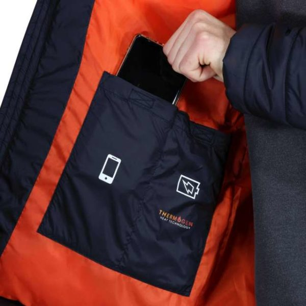 THERMOGEN WATERPROOF HEATED JACKET - retra210 10 - Cérnavarázs