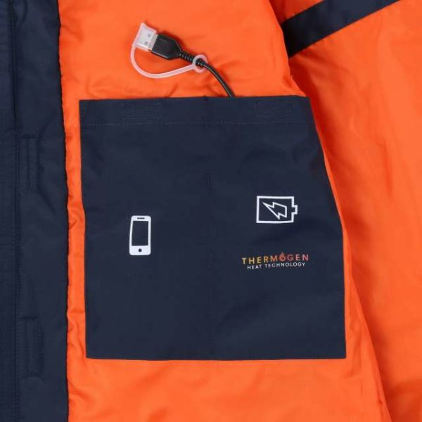 THERMOGEN WATERPROOF HEATED JACKET - retra210 6 - Cérnavarázs