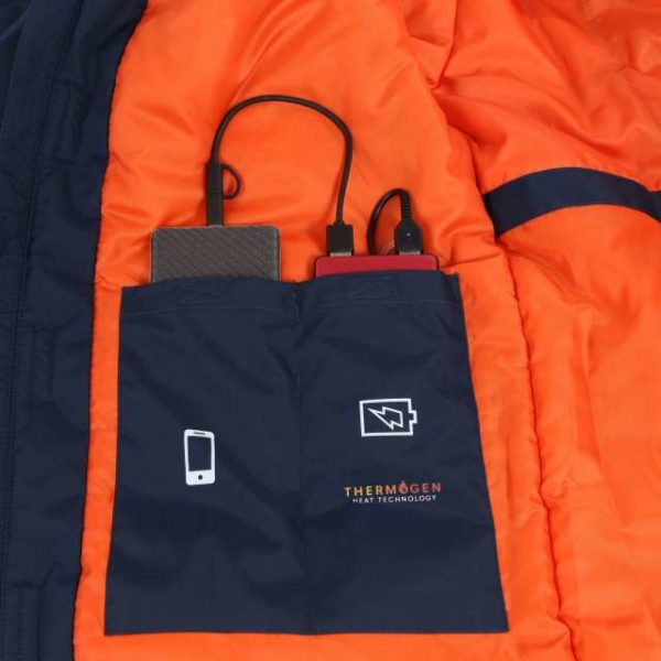THERMOGEN WATERPROOF HEATED JACKET - retra210 7 - Cérnavarázs