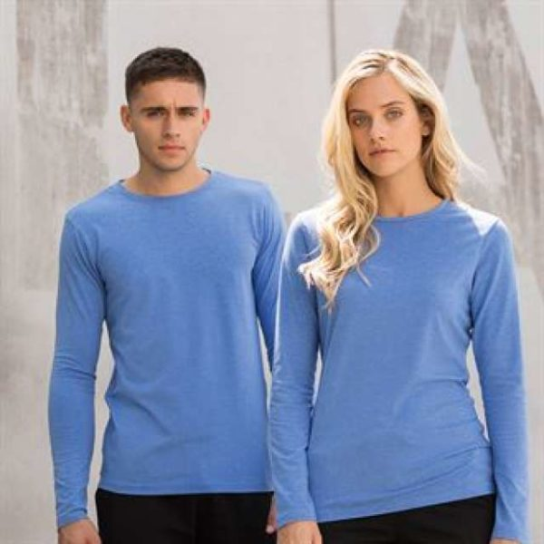 MEN'S FEEL GOOD STRETCH L/S T - sf124 3 - Cérnavarázs