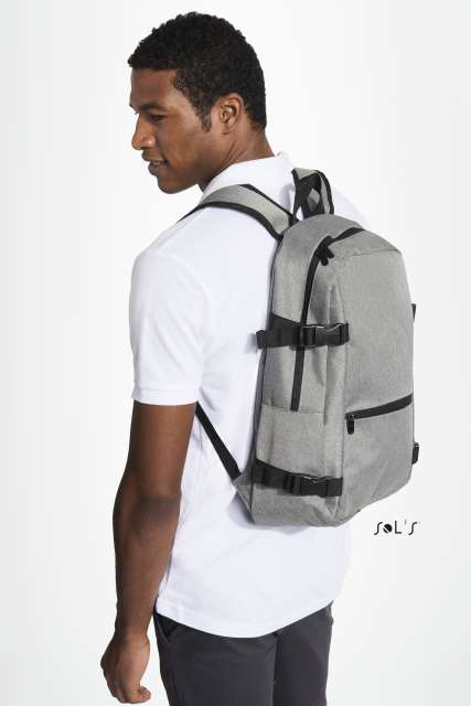 WALL STREET - 600D POLYESTER BACKPACK - so01394 1 - Cérnavarázs