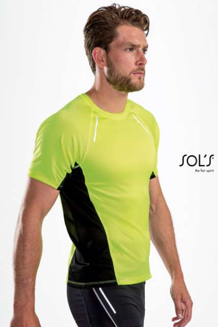 SYDNEY MEN - SHORT SLEEVE RUNNING T-SHIRT - so01414 2 - Cérnavarázs
