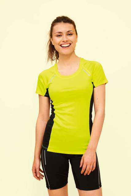 SYDNEY WOMEN - SHORT SLEEVE RUNNING T-SHIRT - so01415 1 - Cérnavarázs