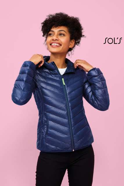 RAY WOMEN - LIGHT HOODED DOWN JACKET - so01621 4 - Cérnavarázs