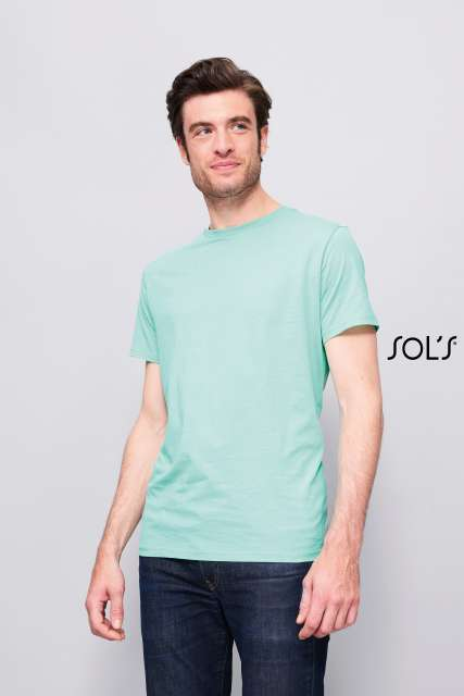 MARVIN MEN'S ROUND-NECK FITTED T-SHIRT - so01698 2 - Cérnavarázs