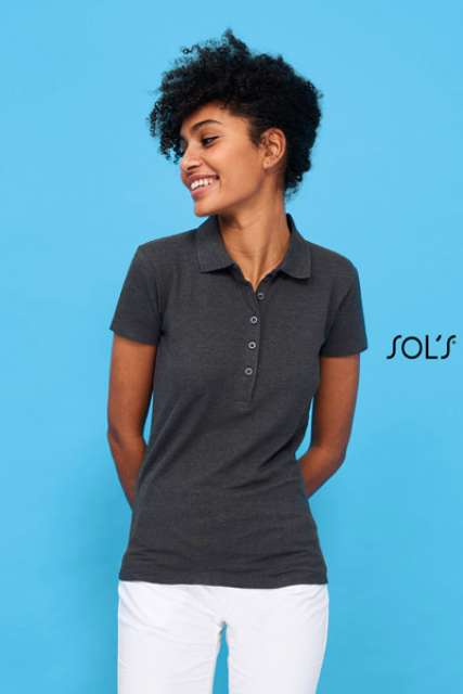 PHOENIX WOMEN - COTTON-ELASTANE POLO SHIRT - so01709 2 - Cérnavarázs