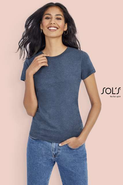 IMPERIAL FIT WOMEN - ROUND NECK FITTED T-SHIRT - so02080 1 - Cérnavarázs