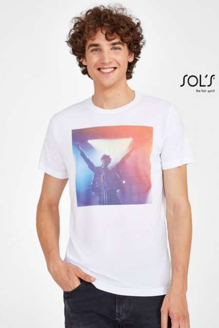 SUBLIMA - UNISEX ROUND COLLAR T-SHIRT FOR SUBLIMATION - so11775 2 - Cérnavarázs