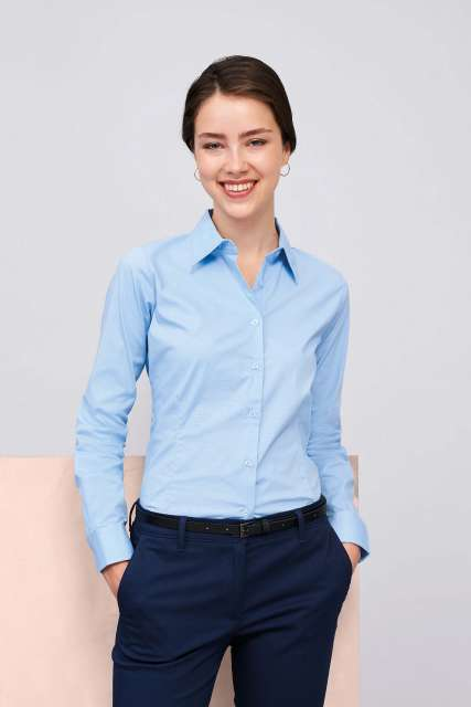EDEN LONG SLEEVE STRETCH WOMEN'S SHIRT - so17015 3 - Cérnavarázs